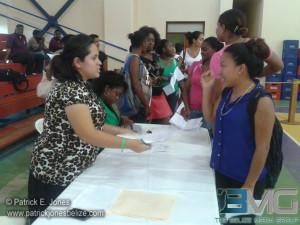 Tablets distribution, Belmopan